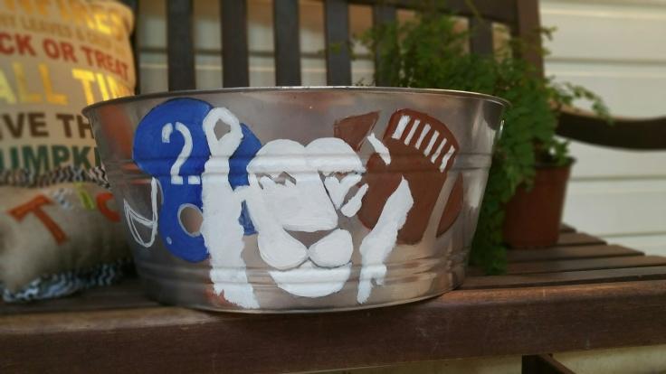 homecoming bucket