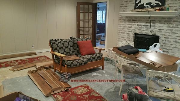 wood flooring install