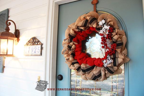 wreathe winter
